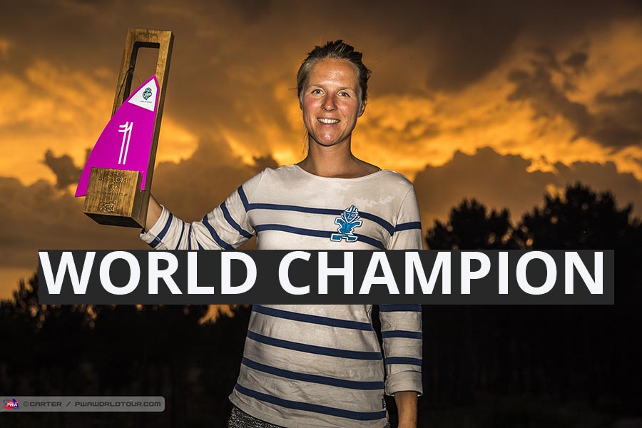 PWA Event – Slalom World Champion: Delphine Cousin