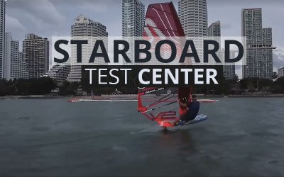 Testing at the Starboard Test Center