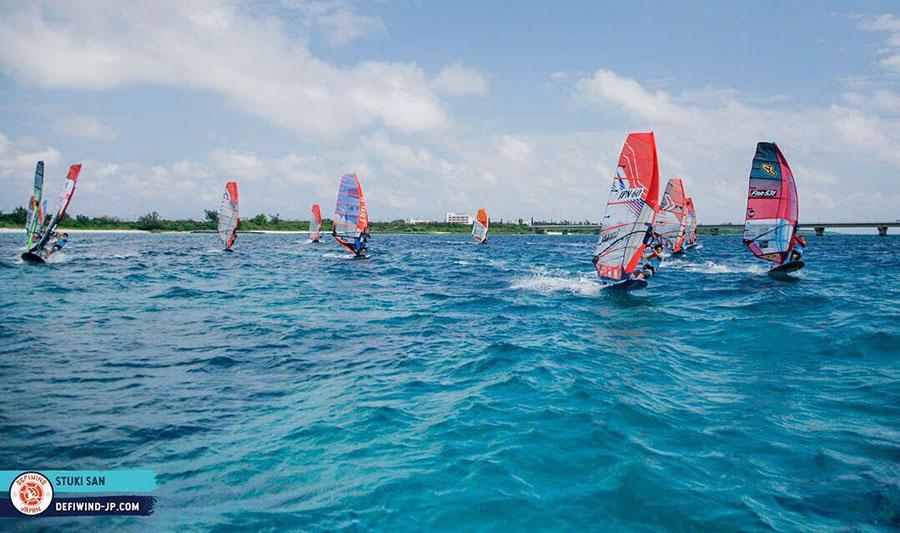 Sarah-Quita Offringa Reports From Defi Wind Japan
