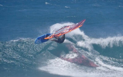 Jaeger Stone Windsurfing in Maui
